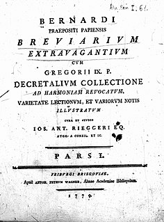 Bernardus Papiensis Medieval Italian canonist and bishop.