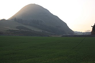North Berwick Law - Berwick Law from the east