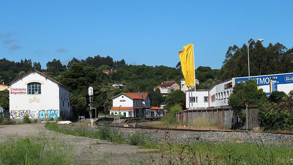 Betanzos Estación de tren Betanzos-Cidade 2