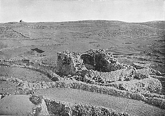 Bethel - Bethel. From the book Holy Land photographed by Daniel B. Shepp. 1894