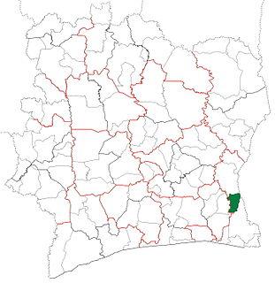Bettié Department Department in Comoé, Ivory Coast