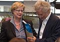 Bettina Schmidt-Czaia, Frank Schätzing, 11. Nationaler Aktionstag für die Erhaltung schriftlichen Kulturguts, Köln 2015 -9284.jpg
