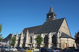 Beuzeville Commune in Normandy, France