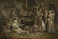 Bezoek aan de hoeve, Jan Brueghel I, 17de eeuw, Koninklijk Museum voor Schone Kunsten Antwerpen, 645.jpg