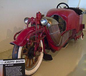 Bi-Autogo - Bi-Autogo (engine cover removed for display purposes).