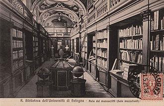 Palazzo Poggi - Image: Biblioteca dell'Universita di Bologna
