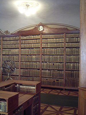 Kalocsa - The Archiepiscopal Library in Kalocsa