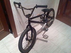 BMX bicyle