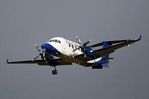 Big Sky Airlines - A Big Sky Beech 1900D