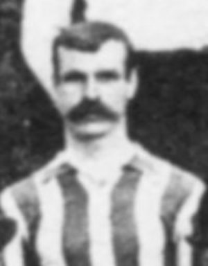 Billy Beats - Beats as a Bristol Rovers player in 1905.