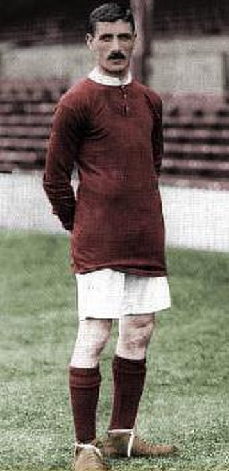 Northwich Victoria F.C. - Billy Meredith, shown above in Manchester United colours, played for Northwich during their early Football League years.