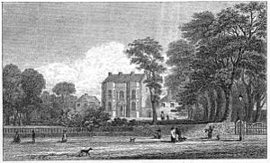 Bingley Hall - Bingley House 1830, demolished to build Bingley Hall in 1850