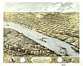 Bird's eye view of the city of Atchison, Atchison Co., Kansas 186(9) LOC 73693406.jpg