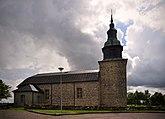 Fil:Bjurums kyrka Gudhems församling Skara stift nära Hornborga sjön.jpg
