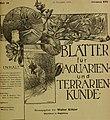Blätter für Aquarien- und Terrarien-Kunde (1905) (20200144648).jpg