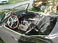Black 1957 Austin-Healey 100-6 in Morges 2012 - Interior.JPG
