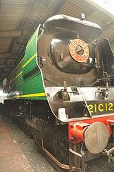 Blackmoor Vale in Sheffield Park locomotive shed (2373).jpg