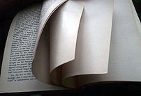 Pages in a book
