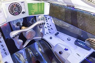 Bloodhound SSC - Cockpit