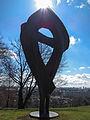 Blossom-Memorial (Schuttblume) in Munich at the olympic mountain 002.jpg