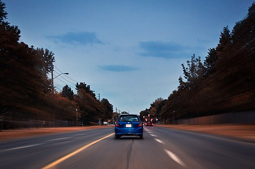 Blue (driving in Toronto)