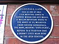 Blue Plaque in Godstall Lane - geograph.org.uk - 667723.jpg
