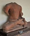 Bodhisattva Seated in European Fashion - Kushan Period - ACCN 00-A-15 - Government Museum - Mathura 2013-02-23 4878.JPG
