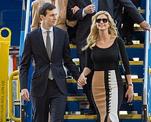 Jared Kushner and Ivanka Trump in February 2017 at an event in North ...