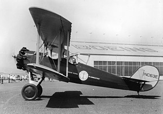 Boeing Model 81 - Image: Boeing 81B with Wright J 6 5 installed (side)