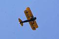Boeing Stearman PT-17 Kaydet Army Waldo Wright Overhead SNFSI FOF 15April2010 (14443749748).jpg