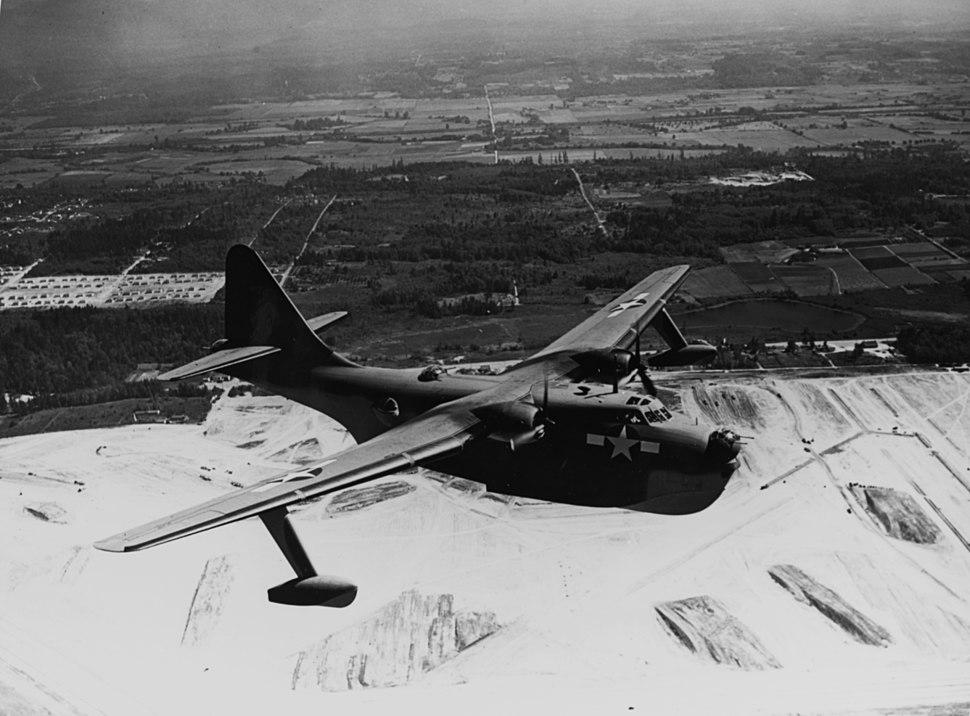 Boeing XPBB-1 Sea Ranger in flight in 1943