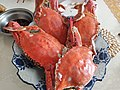 Boiled crabs in a Earlier Autumn Dish.jpg