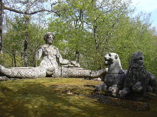 Bomarzo Park Sirene