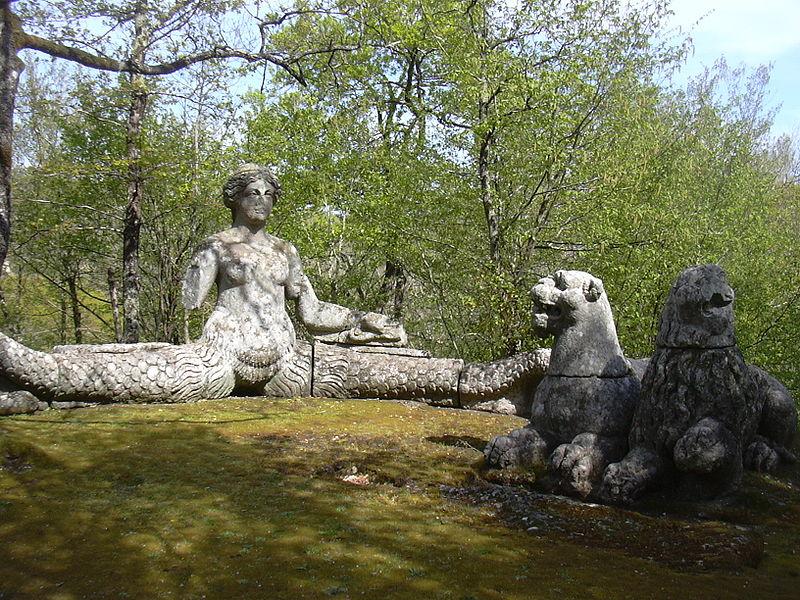 File:Bomarzo Park Sirene.JPG