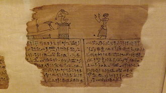 Ancient Egyptian concept of the soul - Fragment from Egyptian Book of the Dead