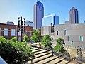 Booker T. Washington HSPVA courtyard.jpg