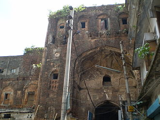 Mughal Empire - Ruins of the Great Caravanserai in Dhaka.