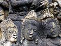 Borobudur - Lalitavistara - 017 S, The Queen tells her Dream (detail 2) (11247749793).jpg