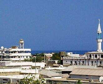 Bari, Somalia - Overview of Bosaso.