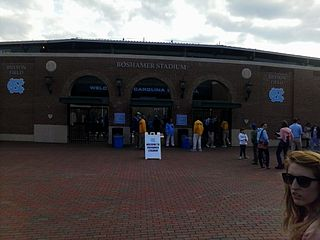 Boshamer Stadium Baseball stadium in North Carolina, U.S.A.