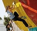 Boulder Worldcup Vienna 28-05-2010 quali-w036 Olga Bibik 110 Maud Ansade.jpg