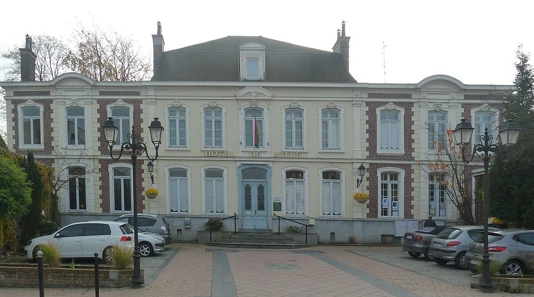 L'Hôtel de Ville de   Bousbecque  Nord (département_français)