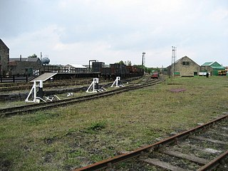 Bowes Railway British preserved standard gauge cable railway system (built 1826)