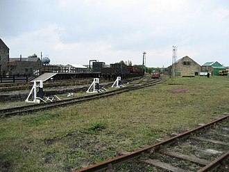Bowes Railway - The Bowes Railway at Springwell Village