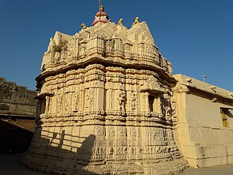 Karna (Chaulukya dynasty) - Image: Brahmaji Temple of Khedbrahma 2