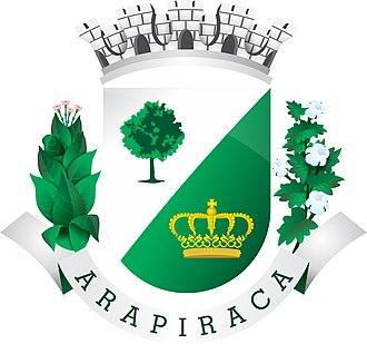 Arapiraca - Image: Brasao arapiraca
