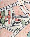 Braunschweig Brunswick Kreuzkloster Stadtplan 1899.jpg