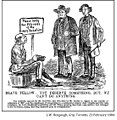 Brave Fellow; You Deserve Something, But, We Can't Do Anything (Bengough cartoon).jpg