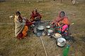 Breakfast Preparation - Gangasagar Fair Transit Camp - Kolkata 2016-01-09 8401.JPG