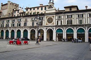 Piazza della Loggia.